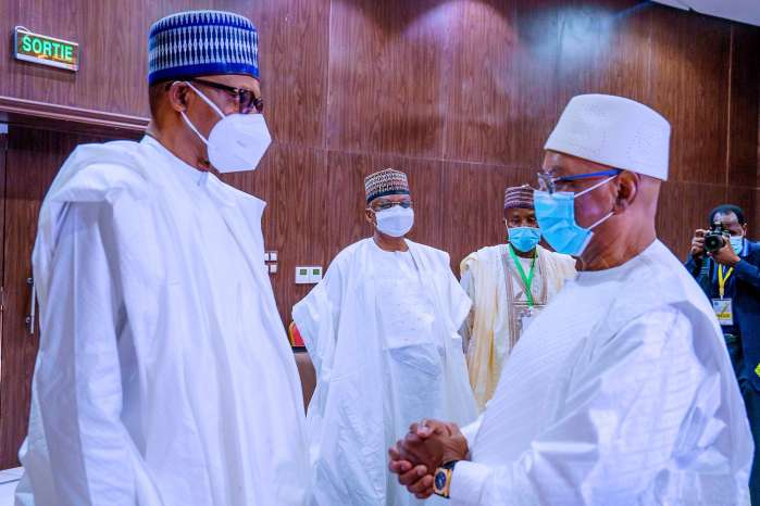 Mali crisis: President Buhari's meeting with other leaders ends in stalemate.