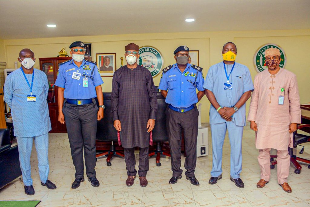 Ogun new CP, Ajogun meets Gov Abiodun, talks tough