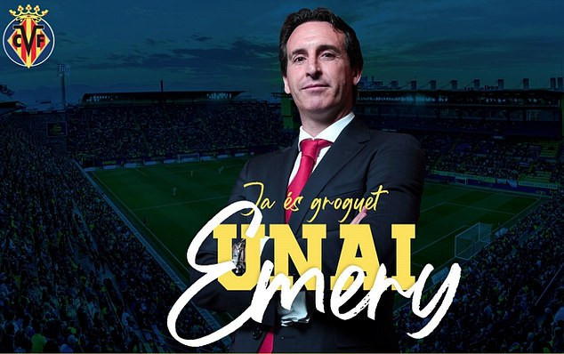 Ex Arsenal coach Unai Emery returns  to coaching